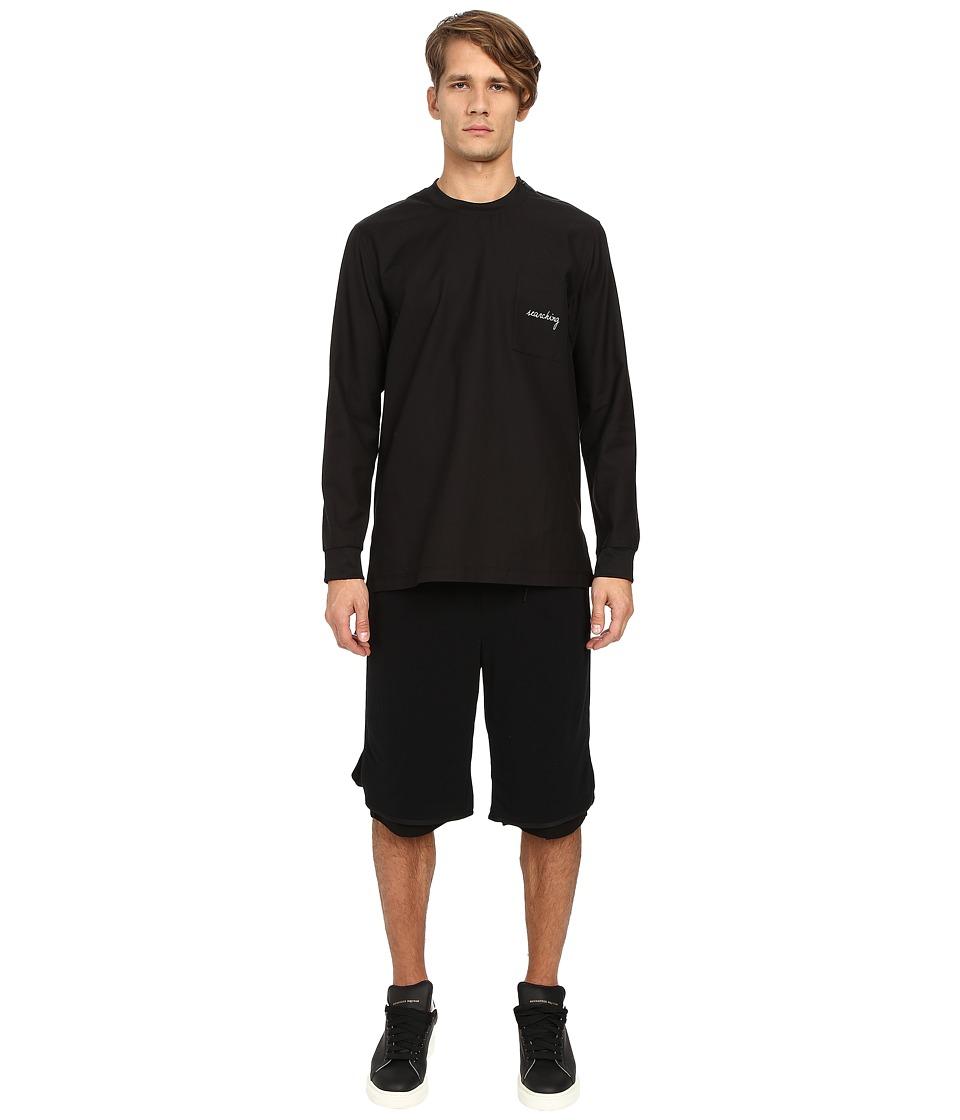 DBYD - Front Pocket T-Shirt (Black) Men's T Shirt