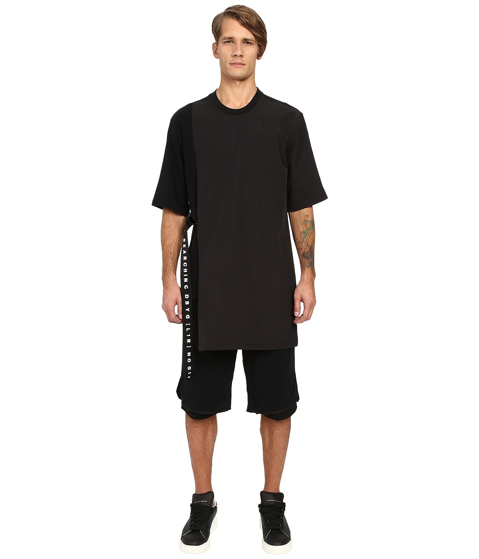 DBYD - Side Strap T-Shirt (Black) Men's T Shirt