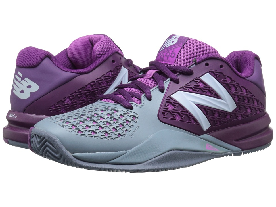 New Balance - WC996v2 (Imperial Purple) Women's Tennis Shoes