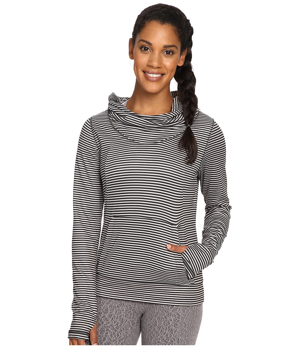 Lole - Esma Hoodie (Black Stripe) Women's Sweatshirt