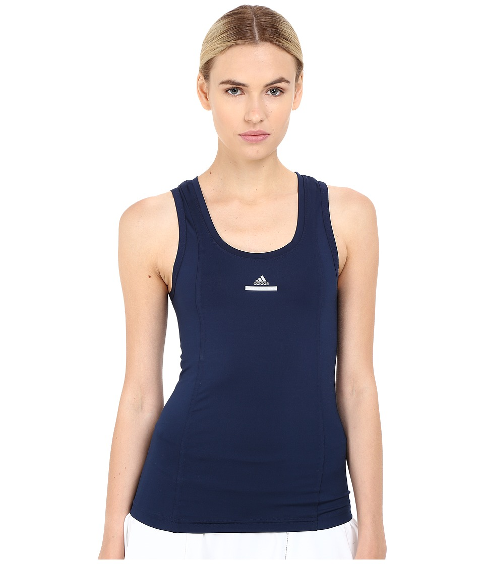 adidas - Stella McCartney Barricade Core Tank Top (Collegiate Navy) Women's Sleeveless