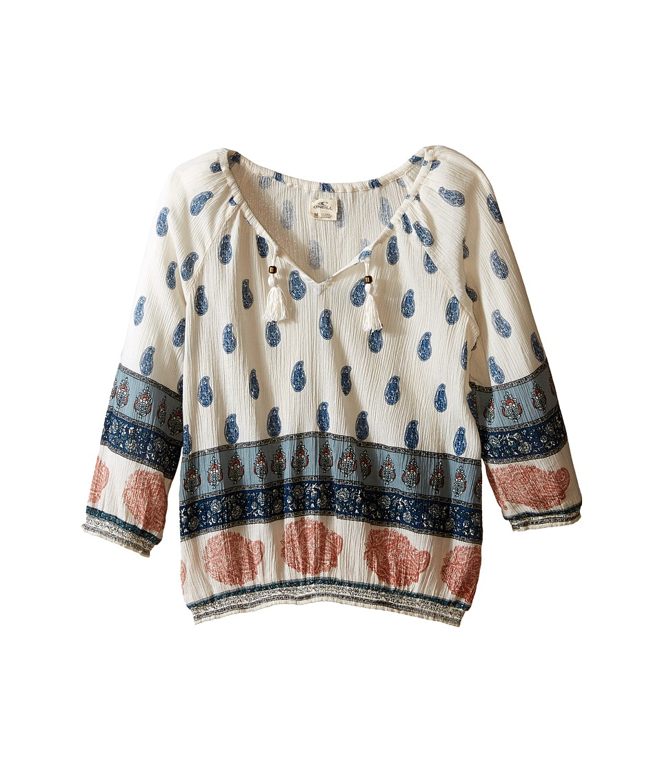 O'Neill Kids - Kaila (Little Kids/Big Kids) (Naked) Girl's Blouse