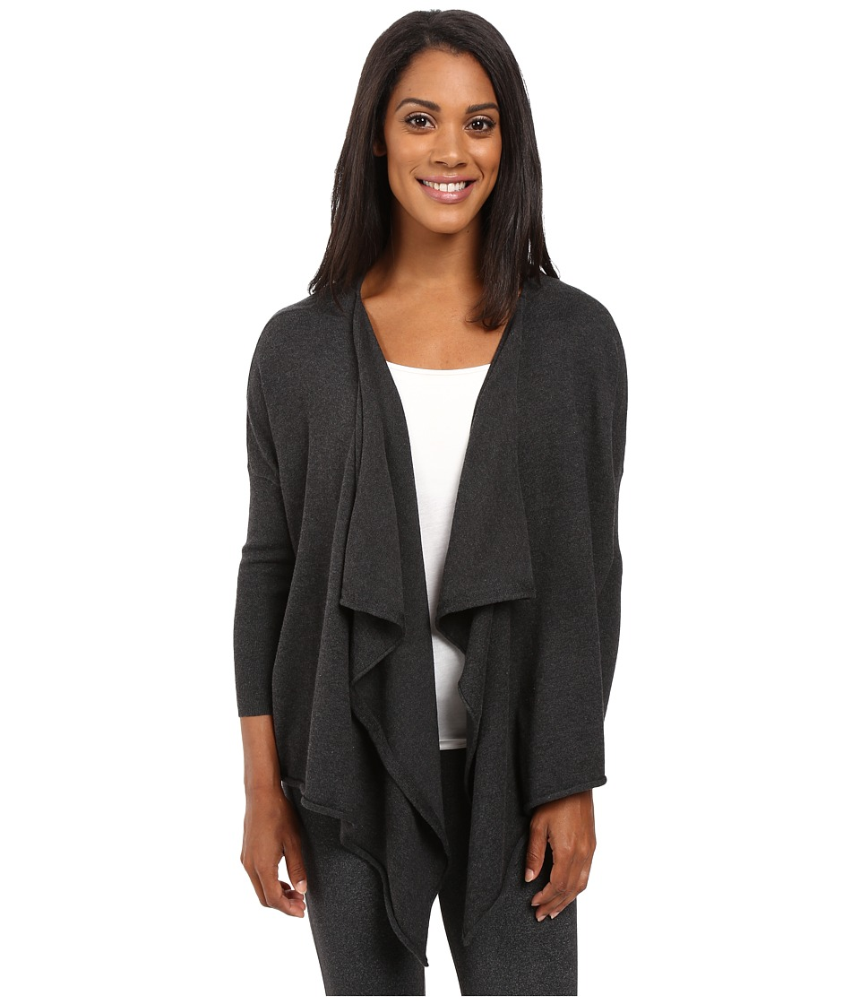 Lole - Murielle Cardigan (Black Heather) Women's Sweater