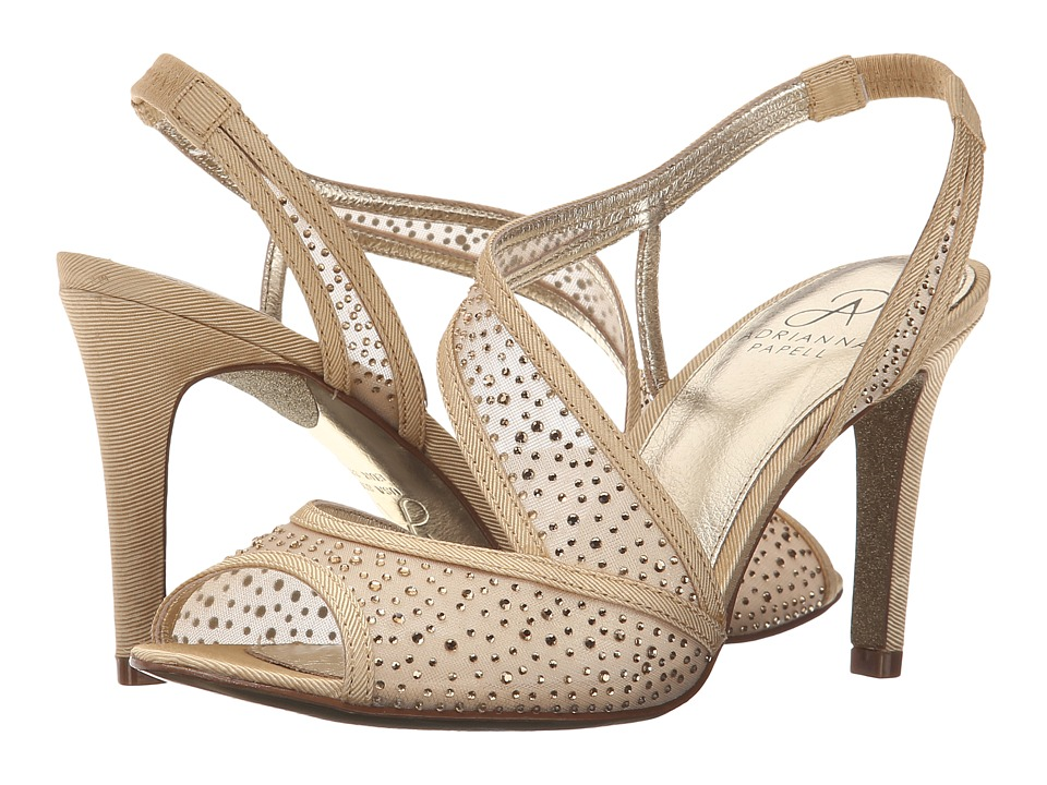 Adrianna Papell - Andie (Powder Sand) Women's Sling Back Shoes