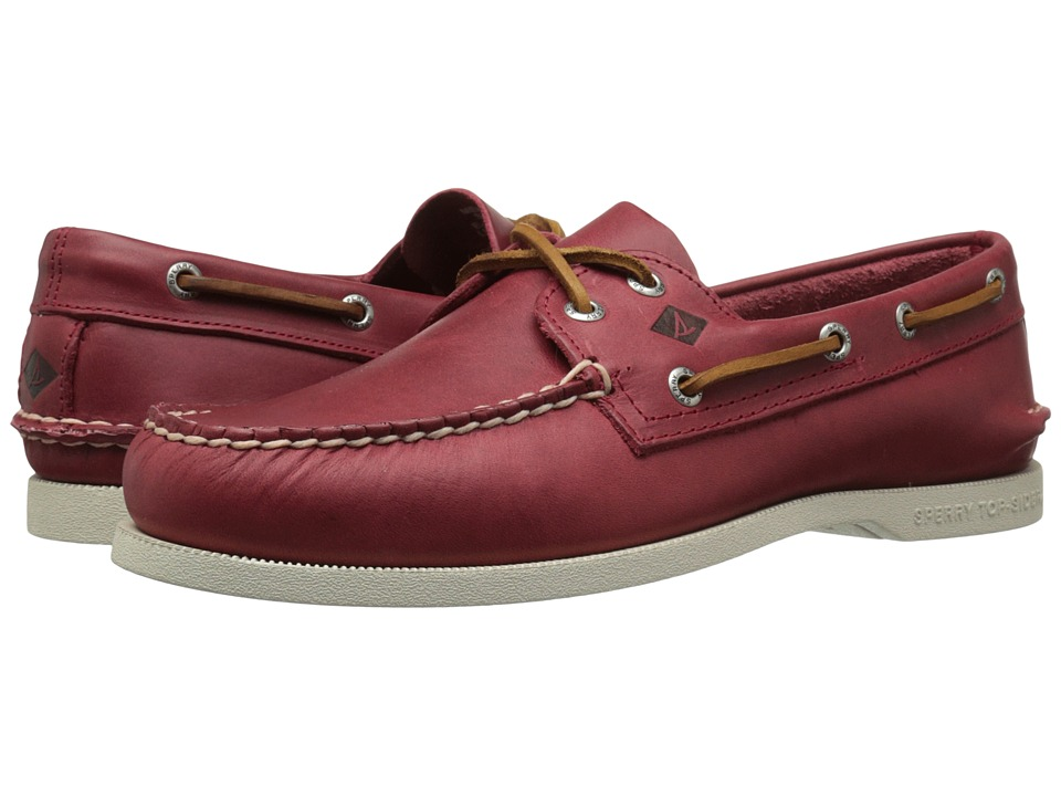 Sperry - A/O 2-Eye Sarape (Red) Men's Lace up casual Shoes