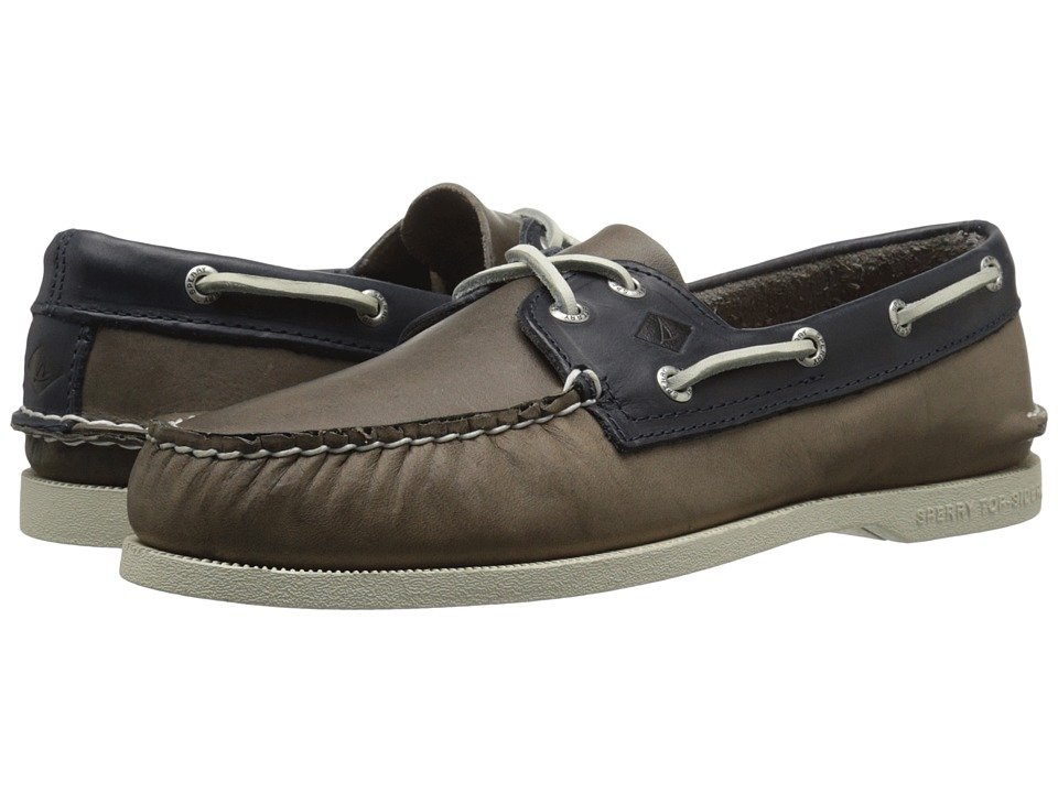 Sperry Top-Sider A/O 2-Eye Sarape (Grey/Navy) Men