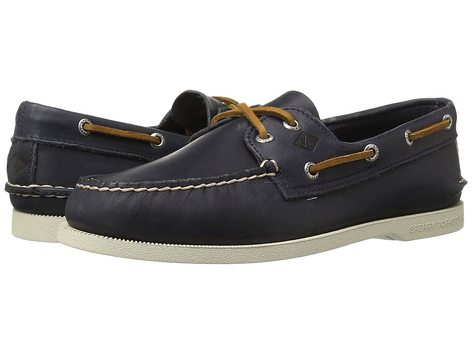 Sperry - A/O 2-Eye Sarape (Navy) Men's Lace up casual Shoes