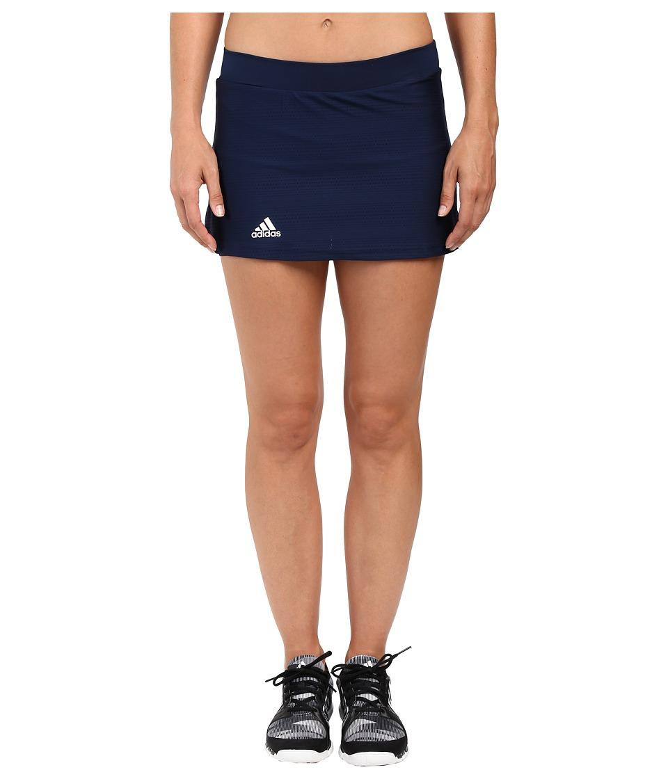 adidas - Club Primefit Skort (Collegiate Navy/White) Women's Skort