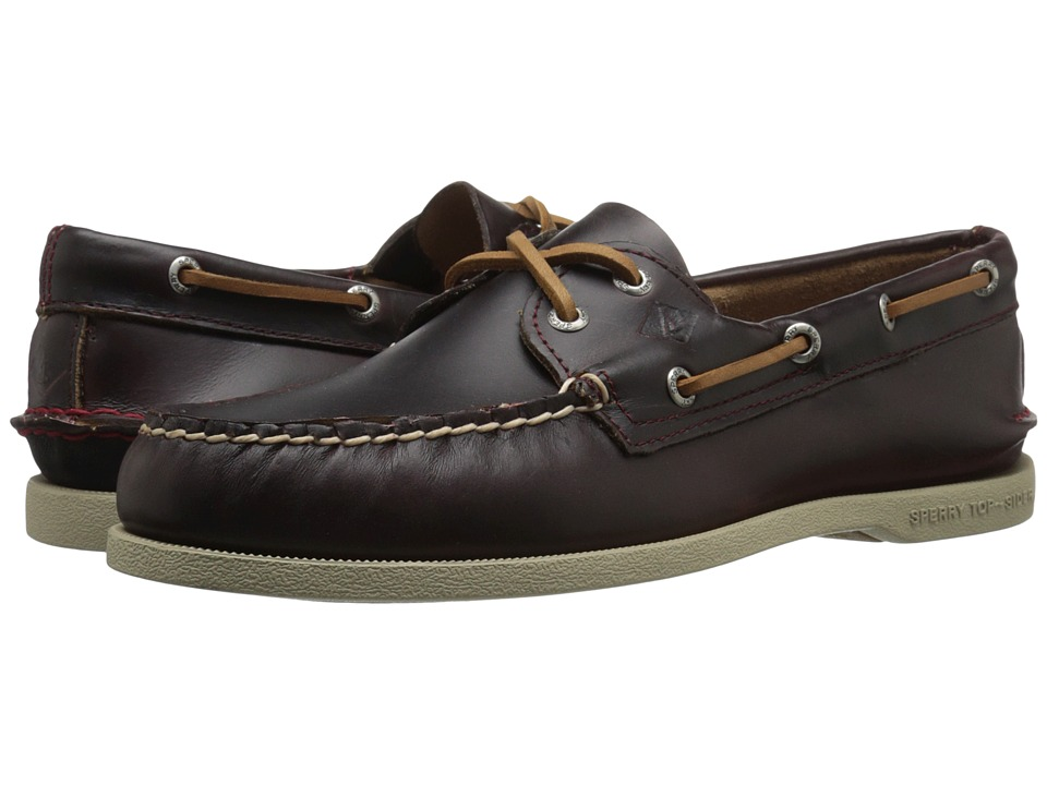 Sperry Top-Sider A/O 2-Eye Waterloo (Burgundy) Men