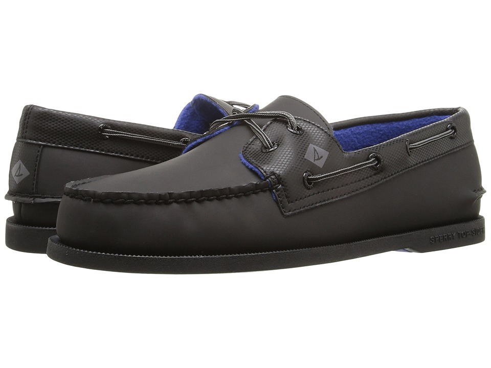 Sperry - A/O 2-Eye Storm (Black) Men's Lace Up Moc Toe Shoes