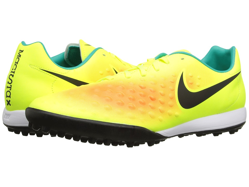 Nike - Magista Onda II TF (Volt/Total Orange/Clear Jade/Black) Men's Shoes