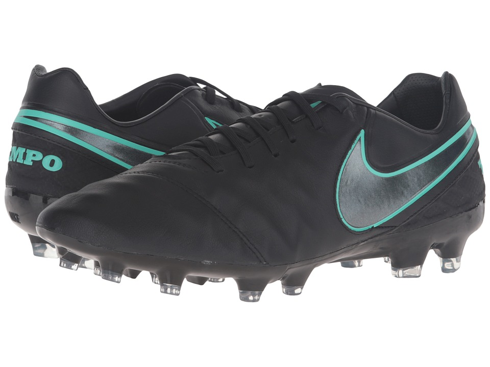 Nike - Tiempo Legacy II FG (Black/Black) Men's Soccer Shoes