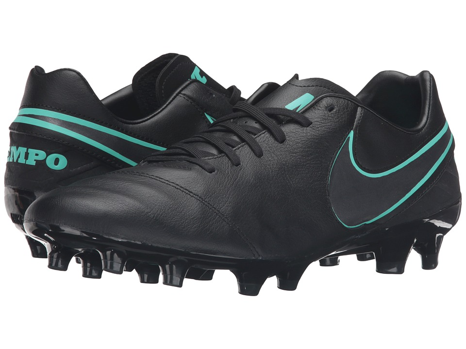 Nike - Tiempo Mystic V FG (Black/Black) Men's Soccer Shoes