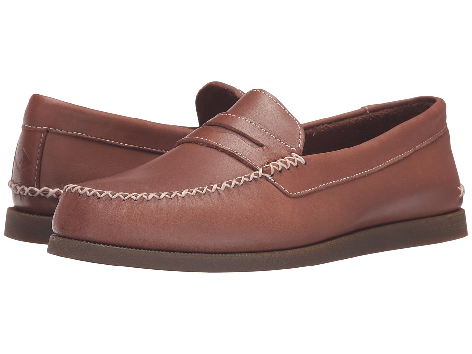 Sperry A/O Wedge Penny (Tan) Men