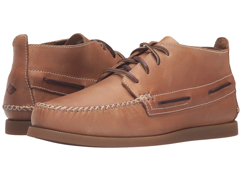 Sperry Top-Sider - A/O Wedge Chukka Leather (Sahara) Men's Lace up casual Shoes