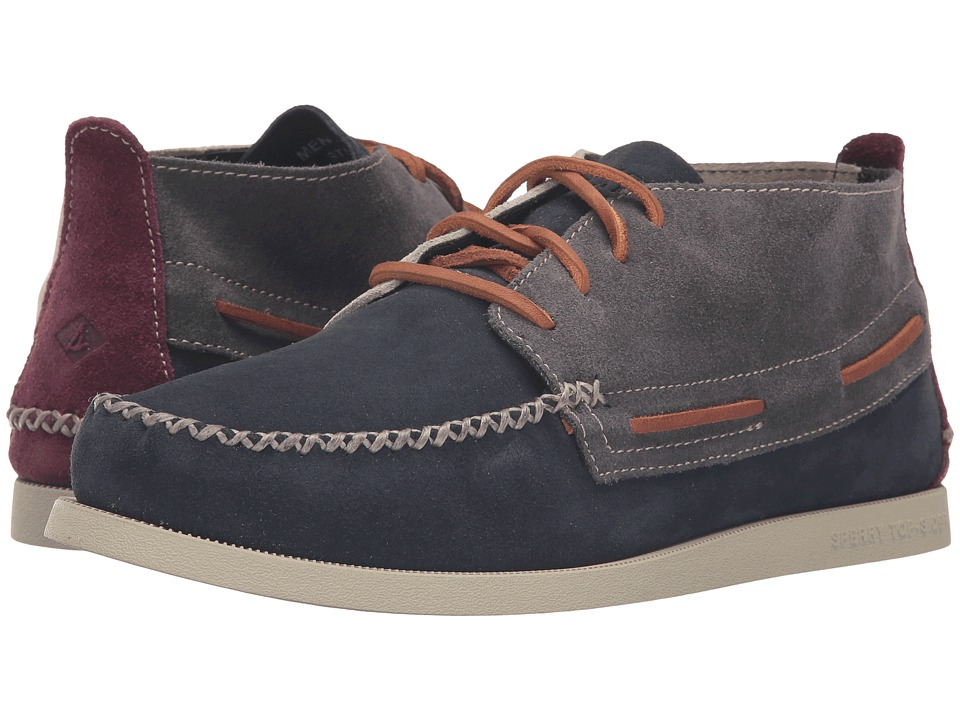 Sperry - A/O Wedge Chukka Suede (Dark Grey) Men's Lace up casual Shoes