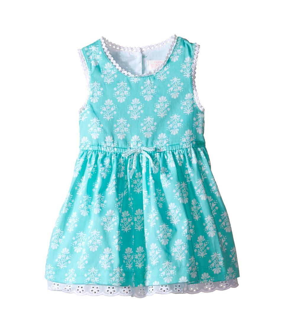 Pumpkin Patch Kids - Shell Tile Print Dress (Infant) (Opal) Girl's Dress