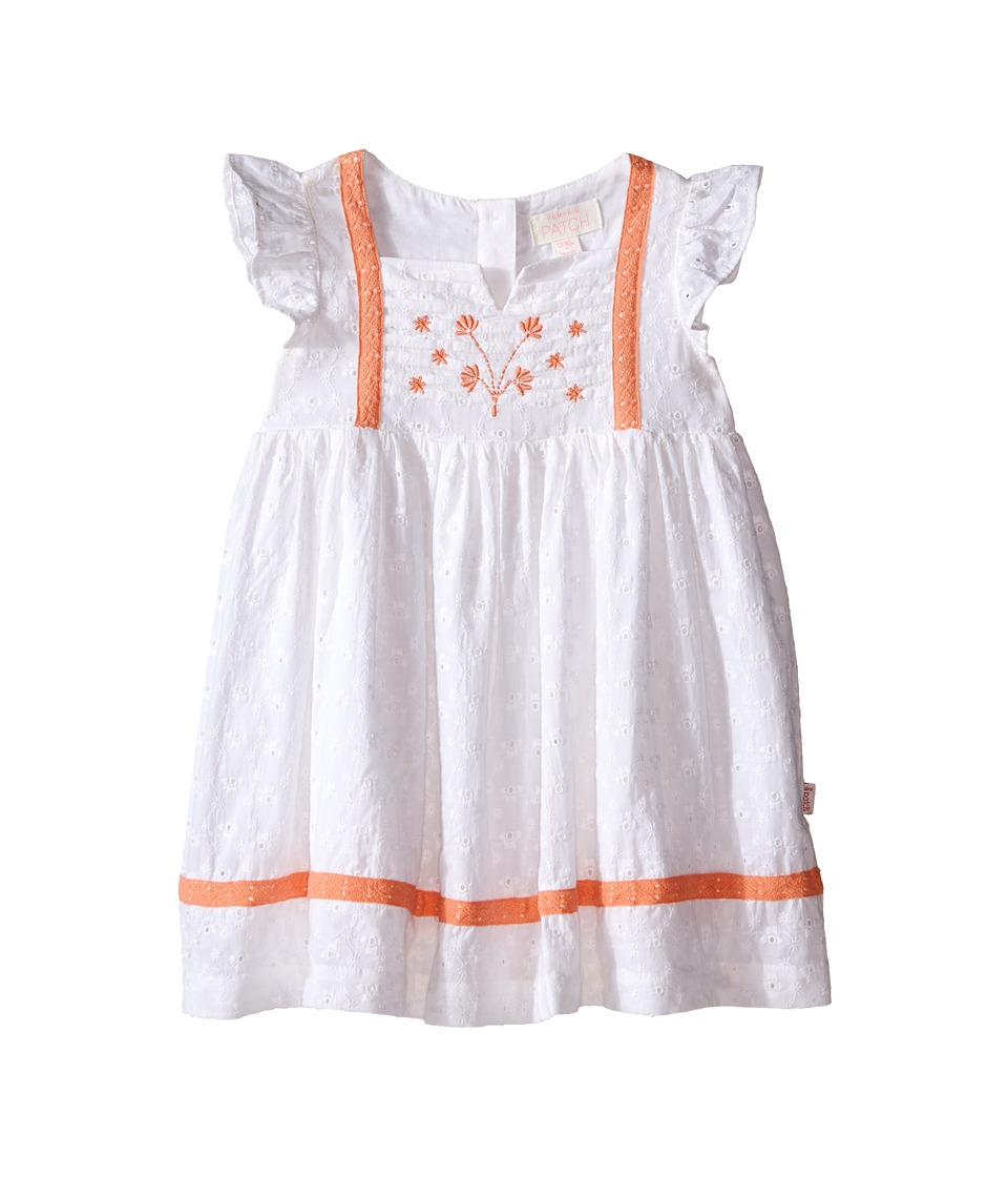 Pumpkin Patch Kids - Broderie Dress (Infant) (Super White) Girl's Dress