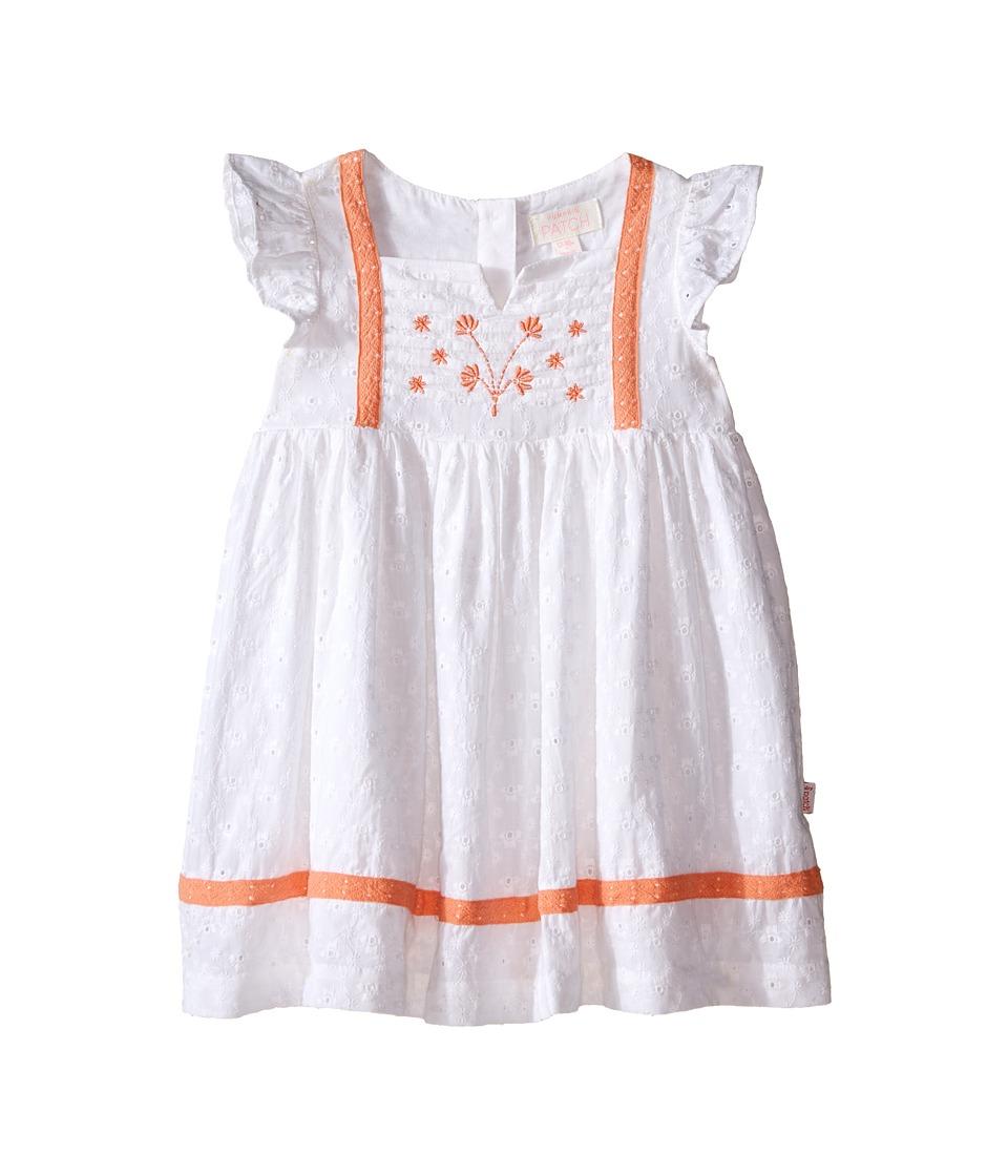 Pumpkin Patch Kids - Broderie Dress (Infant) (Super White) Girl's Dress