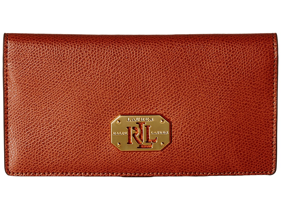 LAUREN by Ralph Lauren - Slim Wallet (Lauren Tan) Wallet Handbags