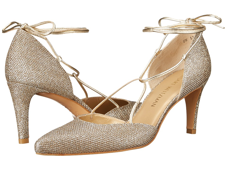 Stuart Weitzman Bridal & Evening Collection - Beagirl (Platinum) Women's Shoes
