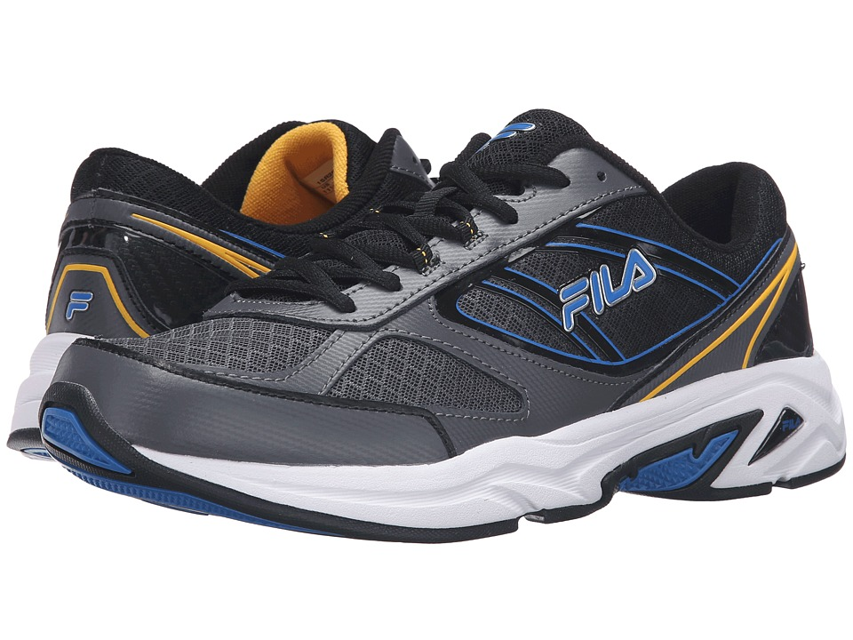 Fila - Physique (Castlerock/Electic Blue/Gold Fusion) Men's Shoes