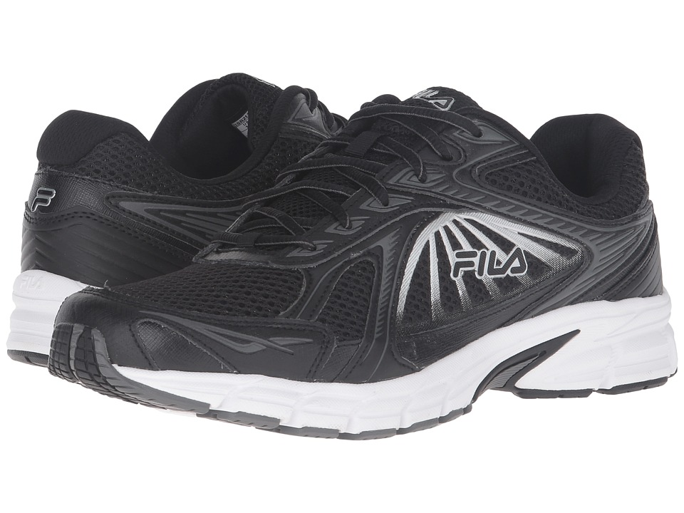 Fila - Omnispeed (Black/Black/Metallic Silver) Men
