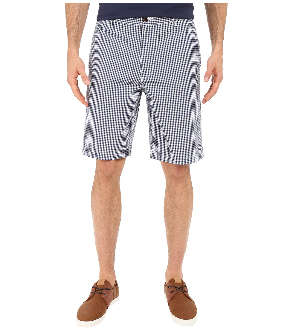 Dockers Men's - Perfect Short Classic Fit Flat Front (Downey Medievil Blue) Men's Shorts