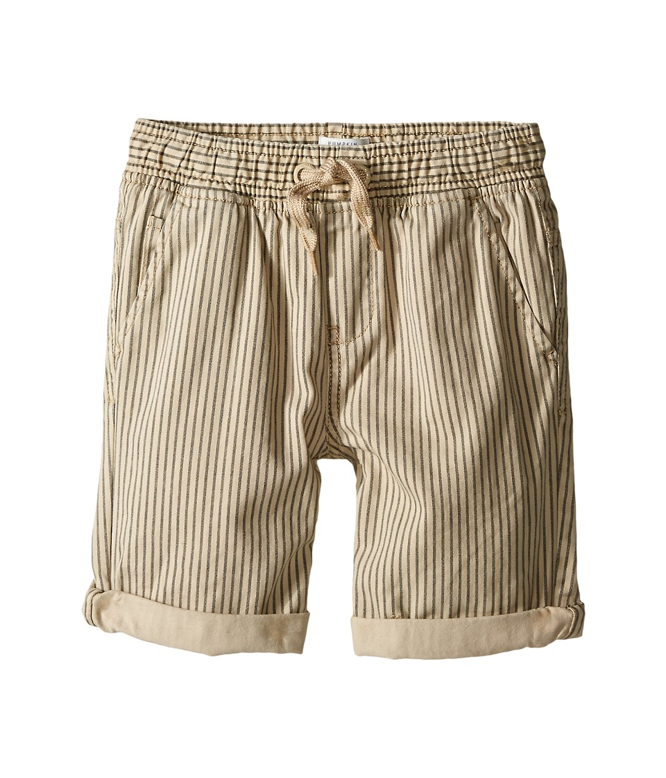 Pumpkin Patch Kids - Core Essentials Connor Pull On Shorts (Infant/Toddler/Little Kids/Big Kids) (Dark Grey) Boy's Shorts