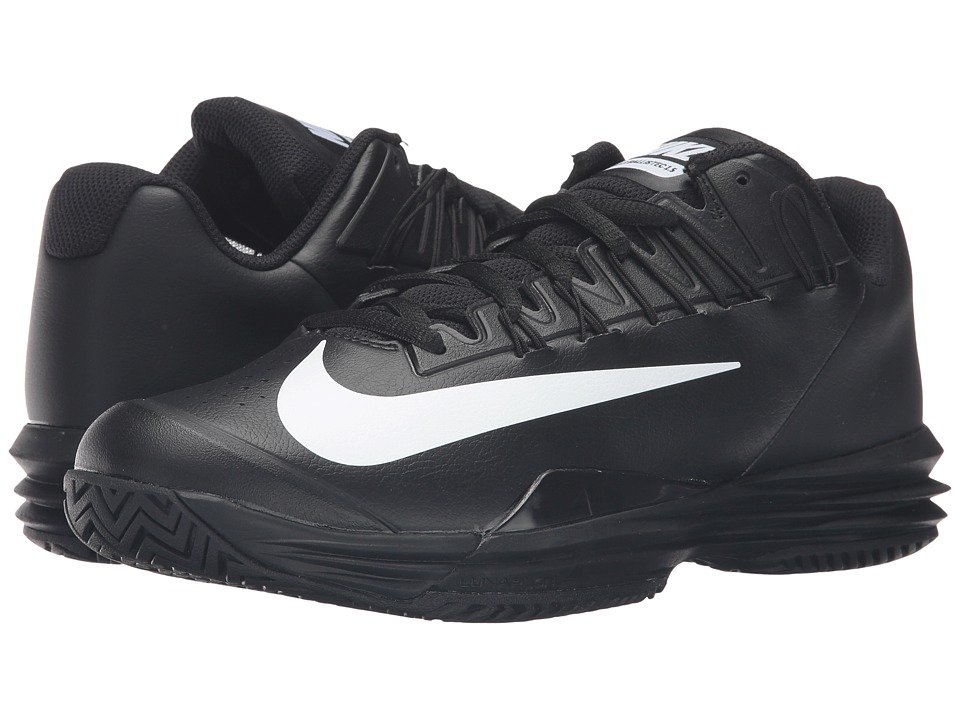 Nike - Lunar Ballistec 1.5 (Black/White) Men's Tennis Shoes