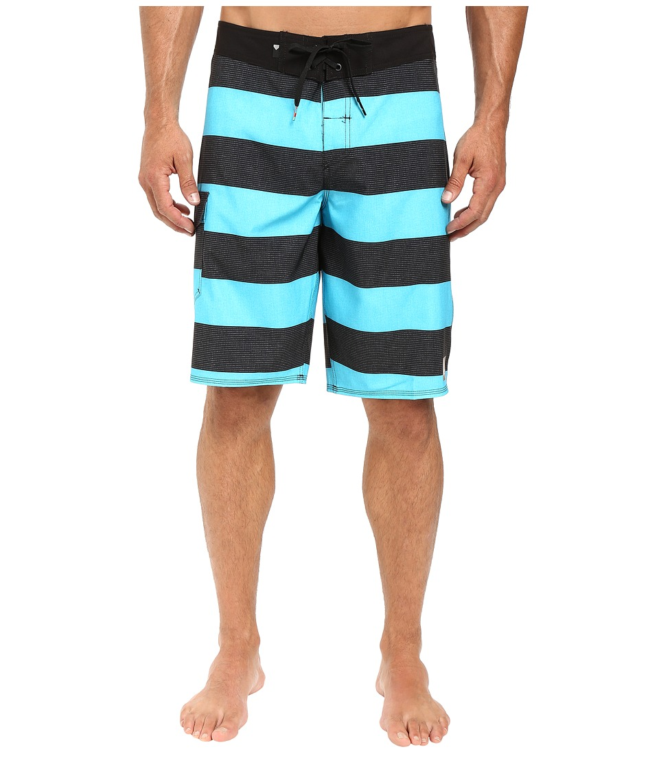 Quiksilver - Everyday Brigg 21 Boardshorts (Scuba Blue) Men's Swimwear
