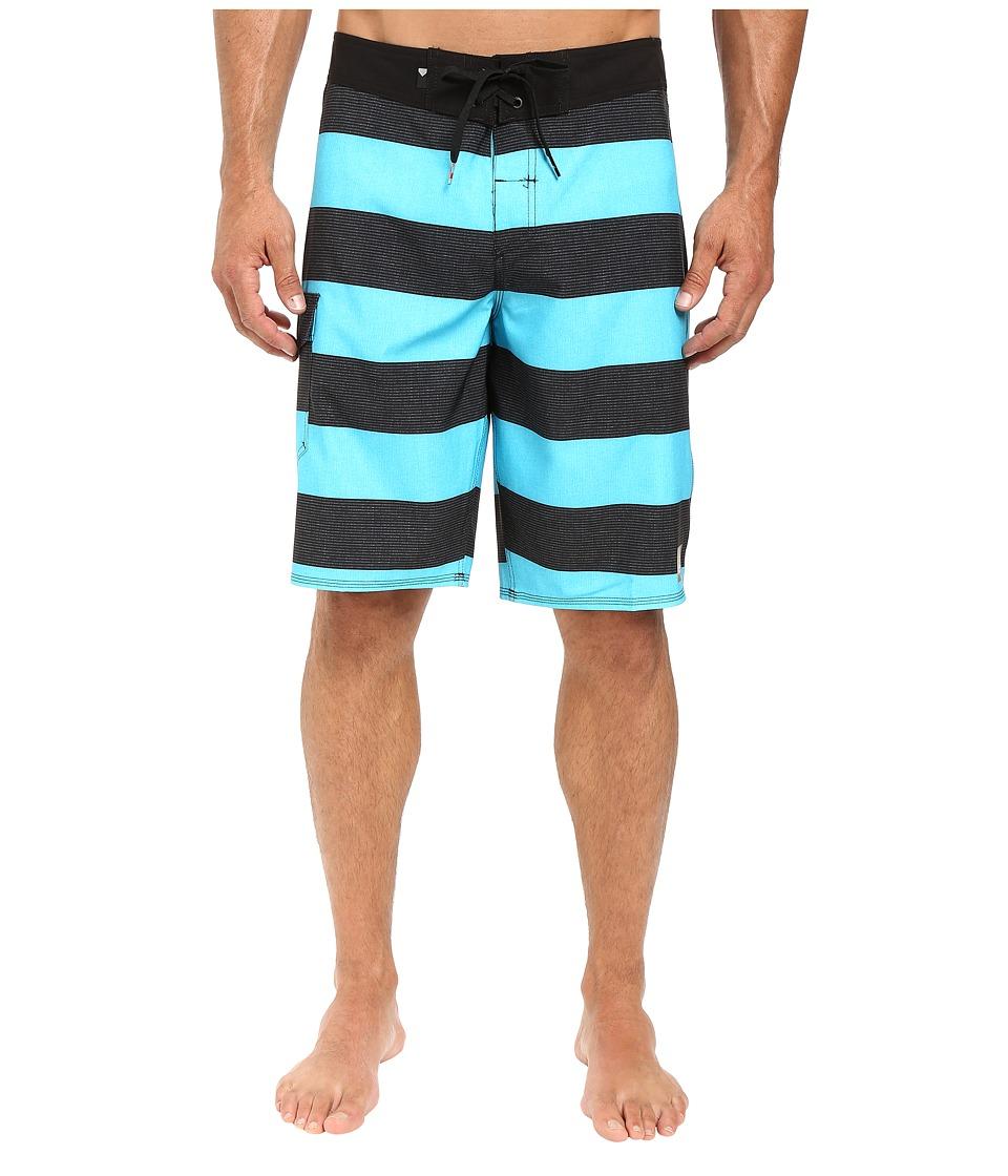 Quiksilver - Everyday Brigg 21 Boardshorts (Scuba Blue) Men's Swimwear