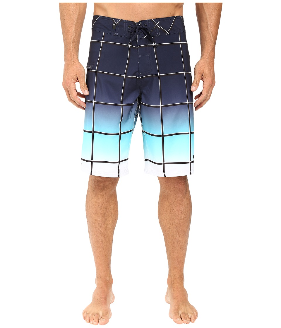 Quiksilver - Electric Space 21 Boardshorts (Navy Blazer) Men's Swimwear