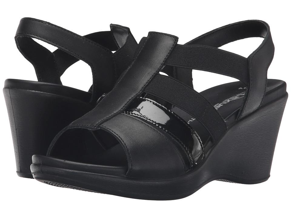 Spring Step - Monnie (Black) Women's Shoes