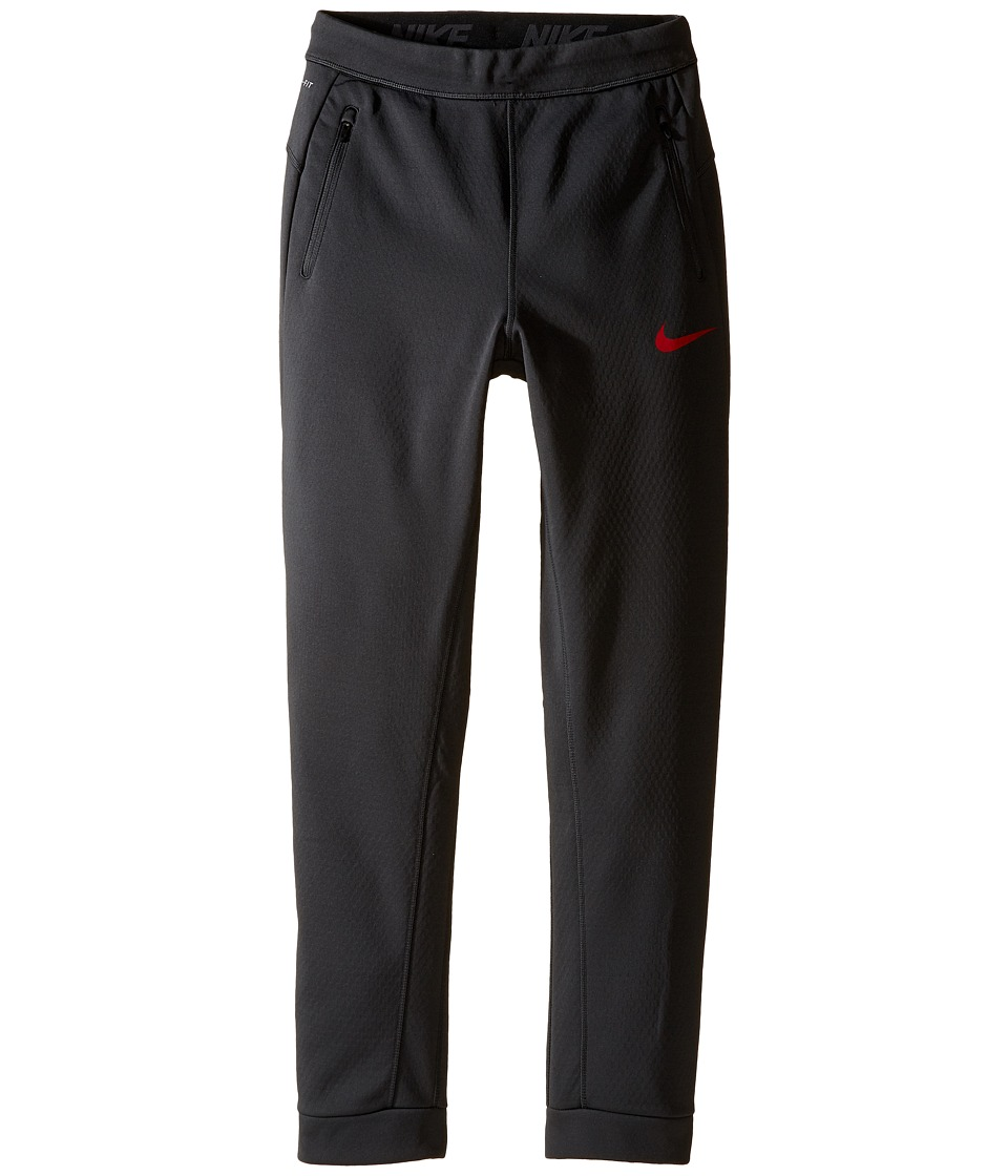 Nike Kids - Therma Sphere Training Pant (Little Kids/Big Kids) (Anthracite/Gym Red) Boy's Casual Pants