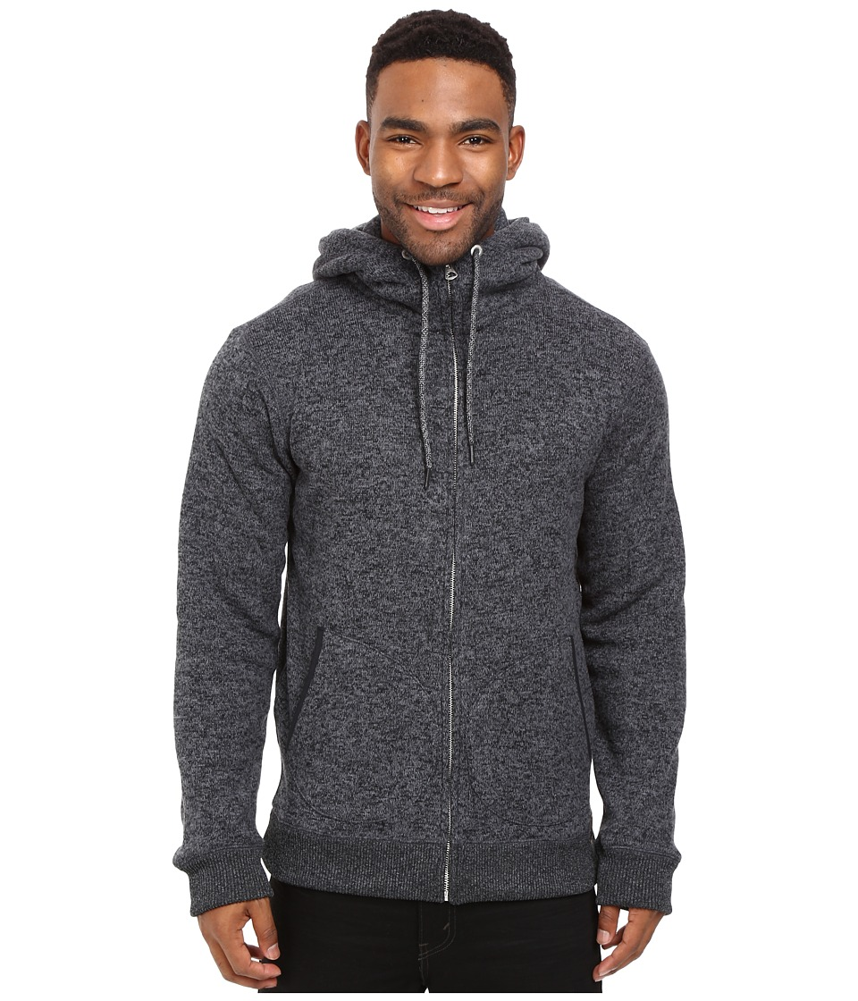 Quiksilver - Keller Zip Fleece (Tarmac) Men's Fleece