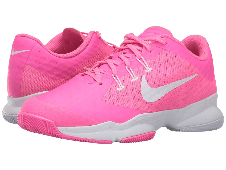 Nike - Air Zoom Ultra (Pink Blast/White) Women's Tennis Shoes