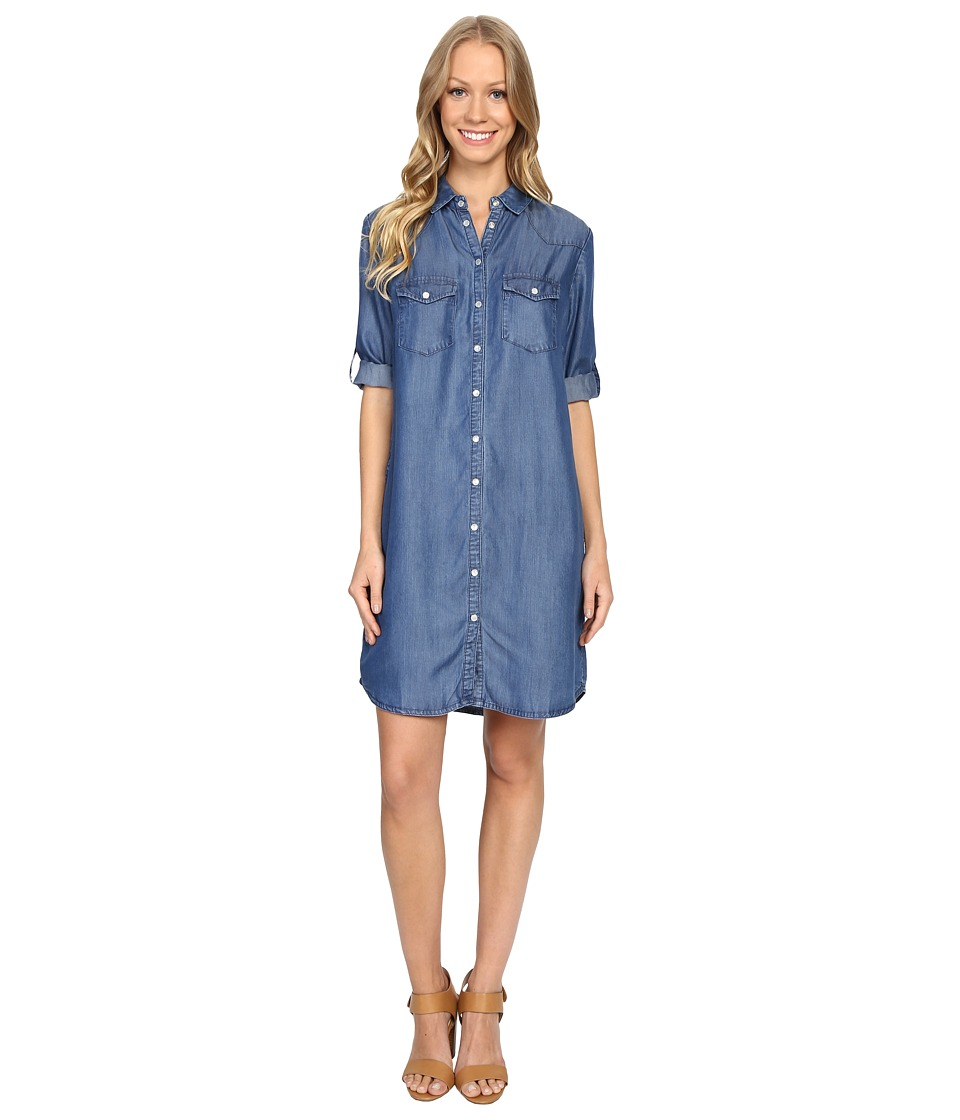 KUT from the Kloth - Ruthy Dress (Blue) Women's Dress