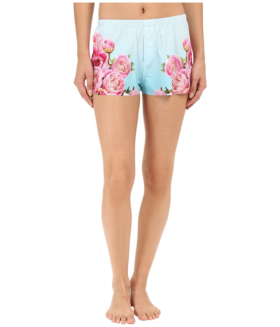 Commando - Engineered Print Boxer SL206 (Peony Photo-Op) Women's Pajama