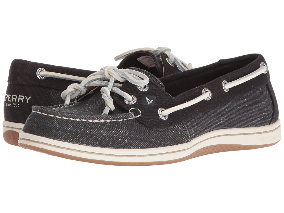 Sperry Top-Sider Firefish Ripstop Canvas (Black) Women