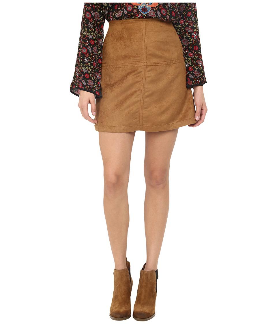Sanctuary Easy Mod Skirt (Dark Real Khaki) Women