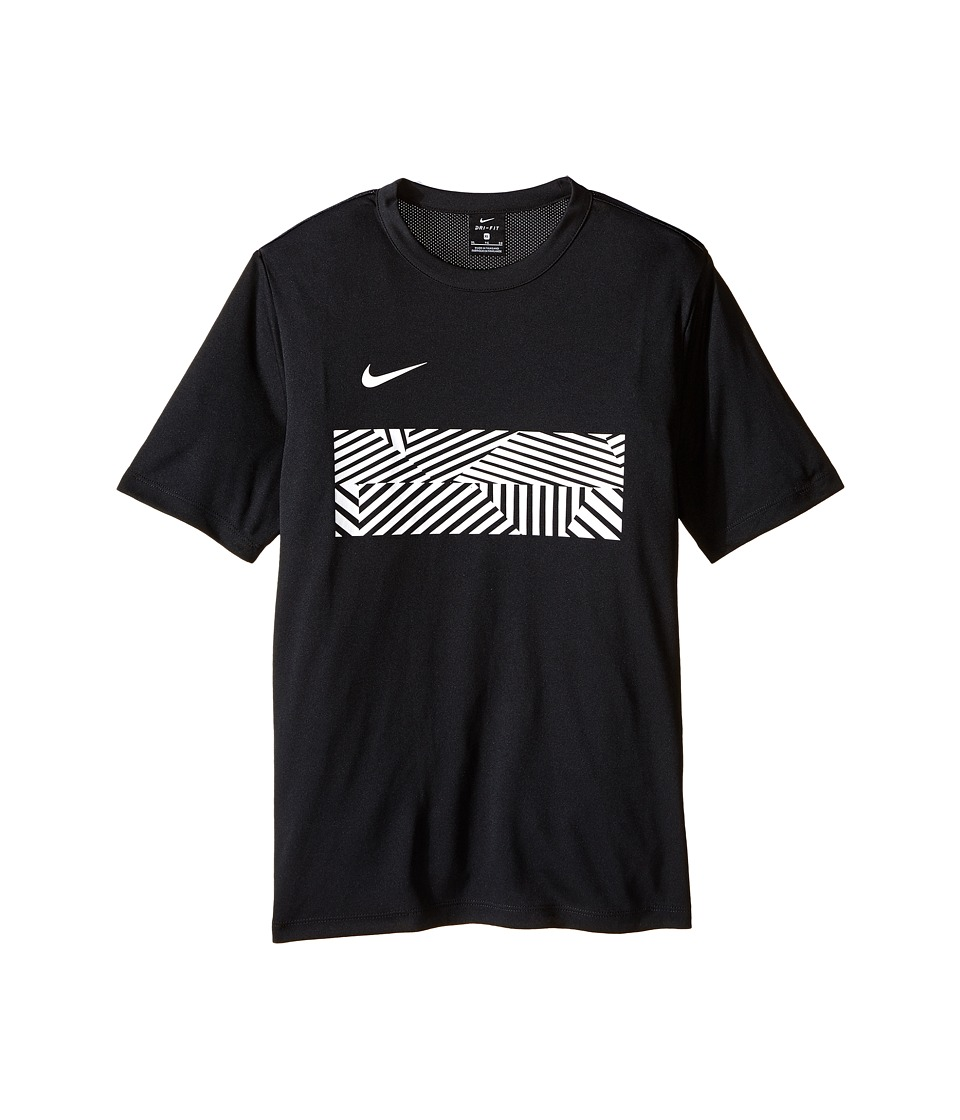 Nike Kids - Dry Academy Soccer Top (Little Kids/Big Kids) (Black/White) Boy's Clothing