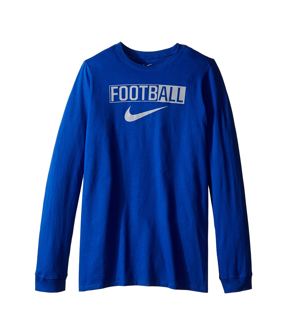 Nike Kids - All Football Training T-Shirt (Little Kids/Big Kids) (Game Royal) Boy's Clothing