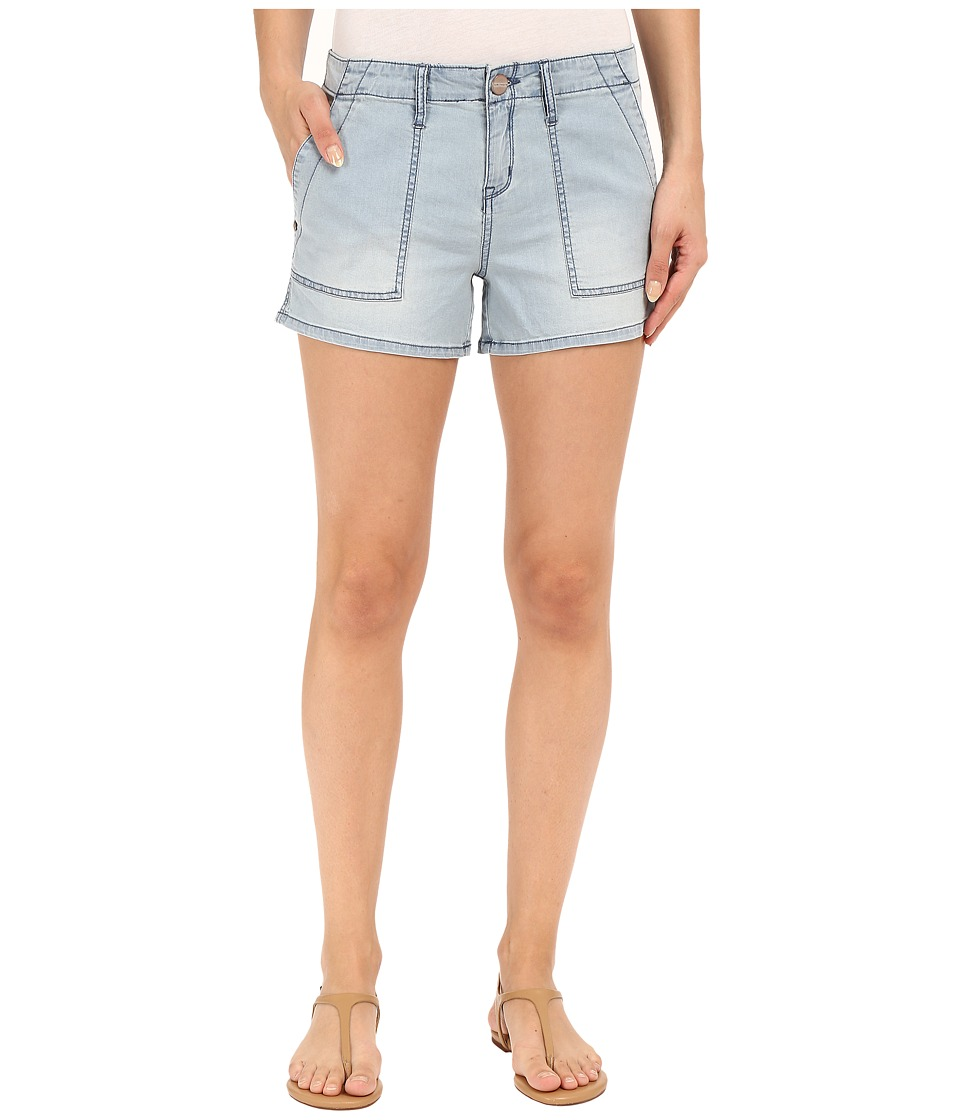 Sanctuary - Peace Trooper Shorty Shorts (Misty Wash) Women's Shorts
