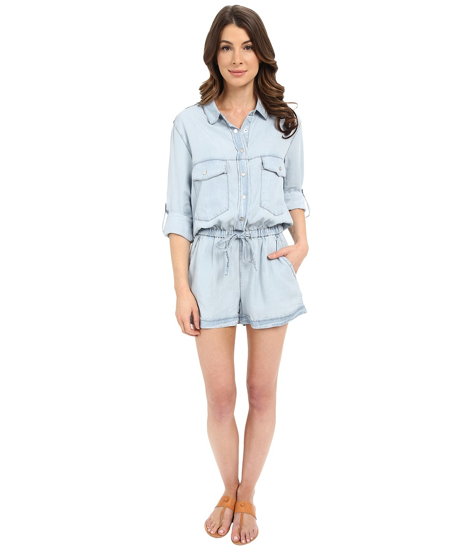 Sanctuary - Soft Surplus Romper (Kaskade Wash) Women's Jumpsuit & Rompers One Piece