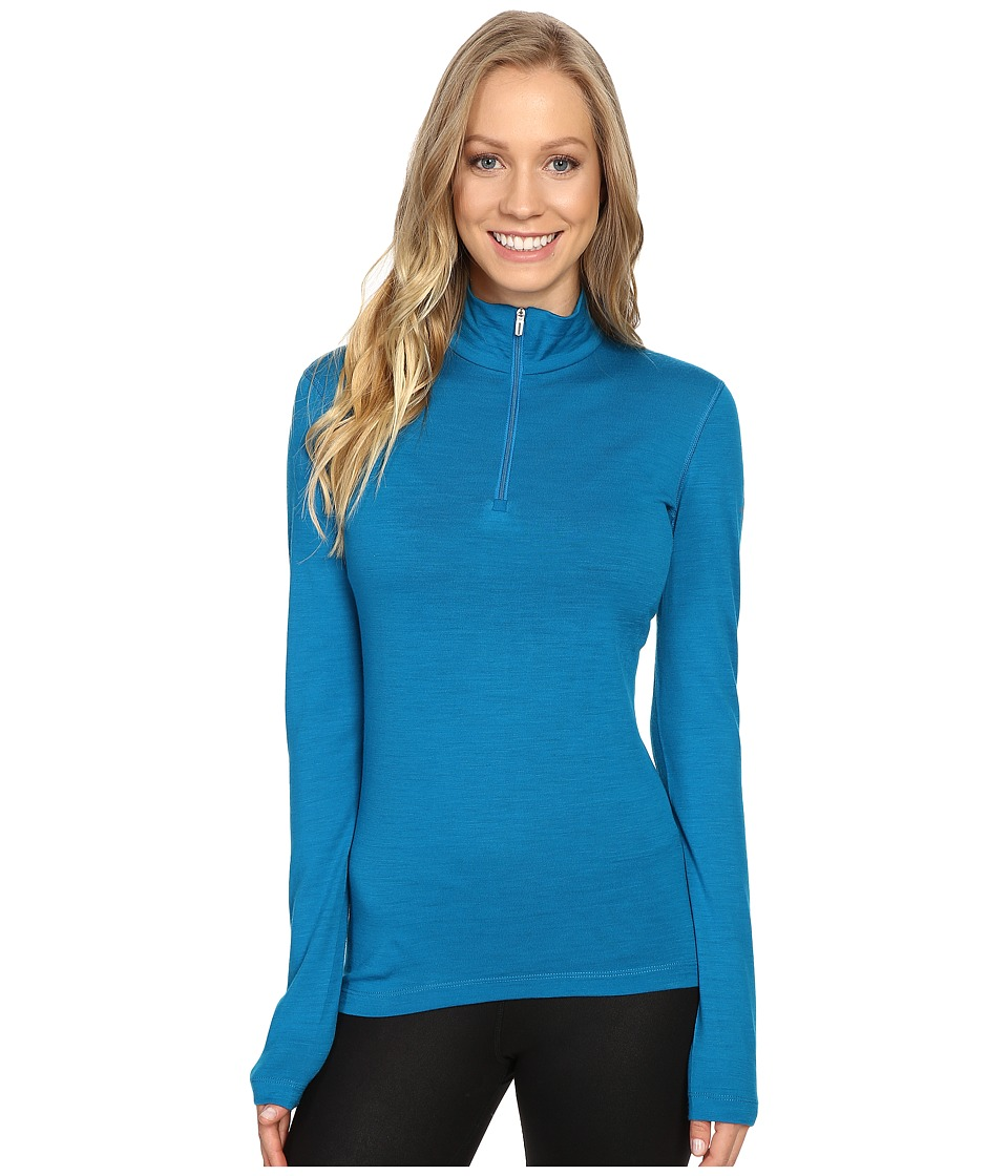 Icebreaker - Oasis Long Sleeve Half Zip (Alpine) Women's Clothing