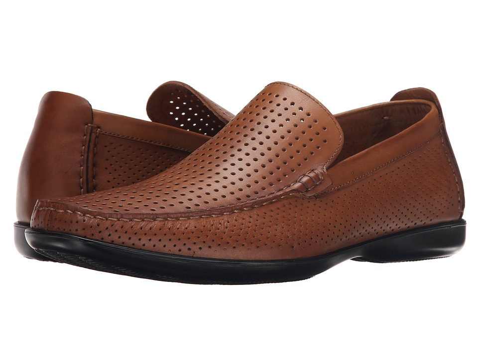 Kenneth Cole New York - Matter of Fact (Cognac) Men's Slip on Shoes