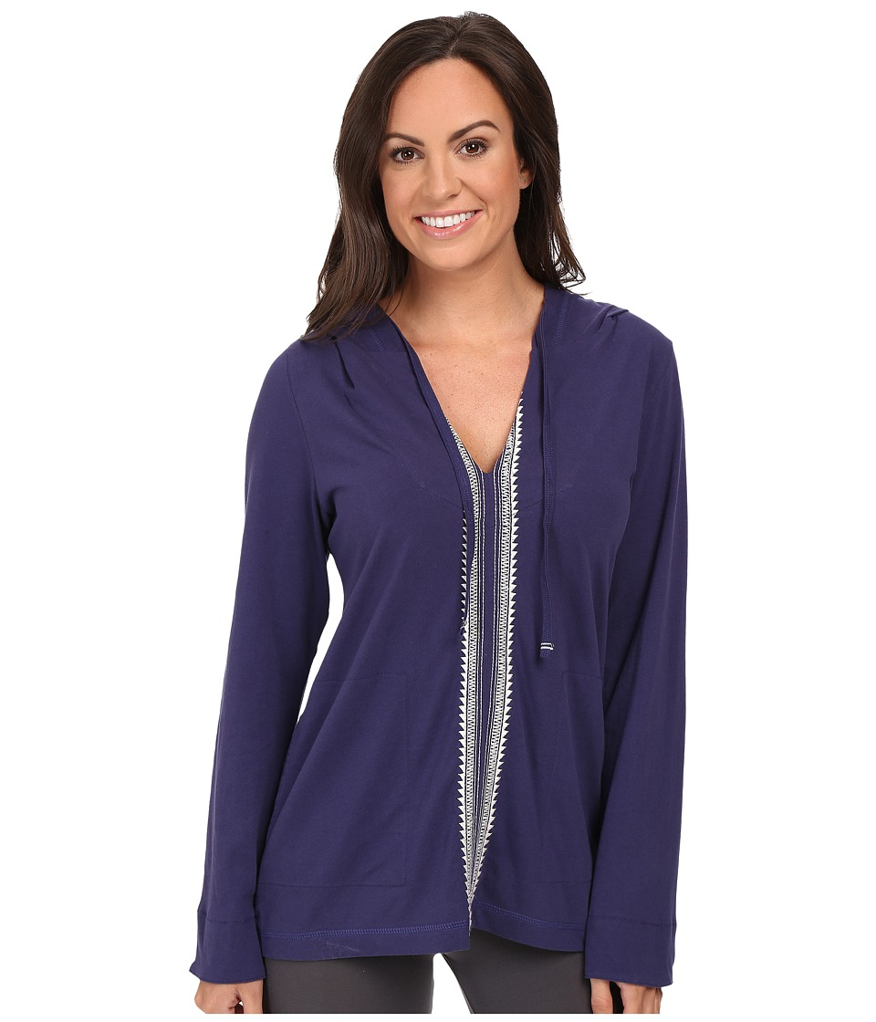 Lucky Brand - Lounge Hoodie (Twilight) Women's Pajama
