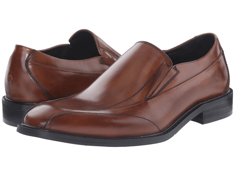 Kenneth Cole New York - Leave It 2 Me (Cognac) Men's Shoes