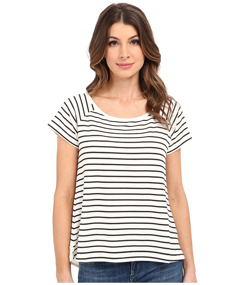 Sanctuary - Capitol Flirt Top (Milk) Women's Clothing